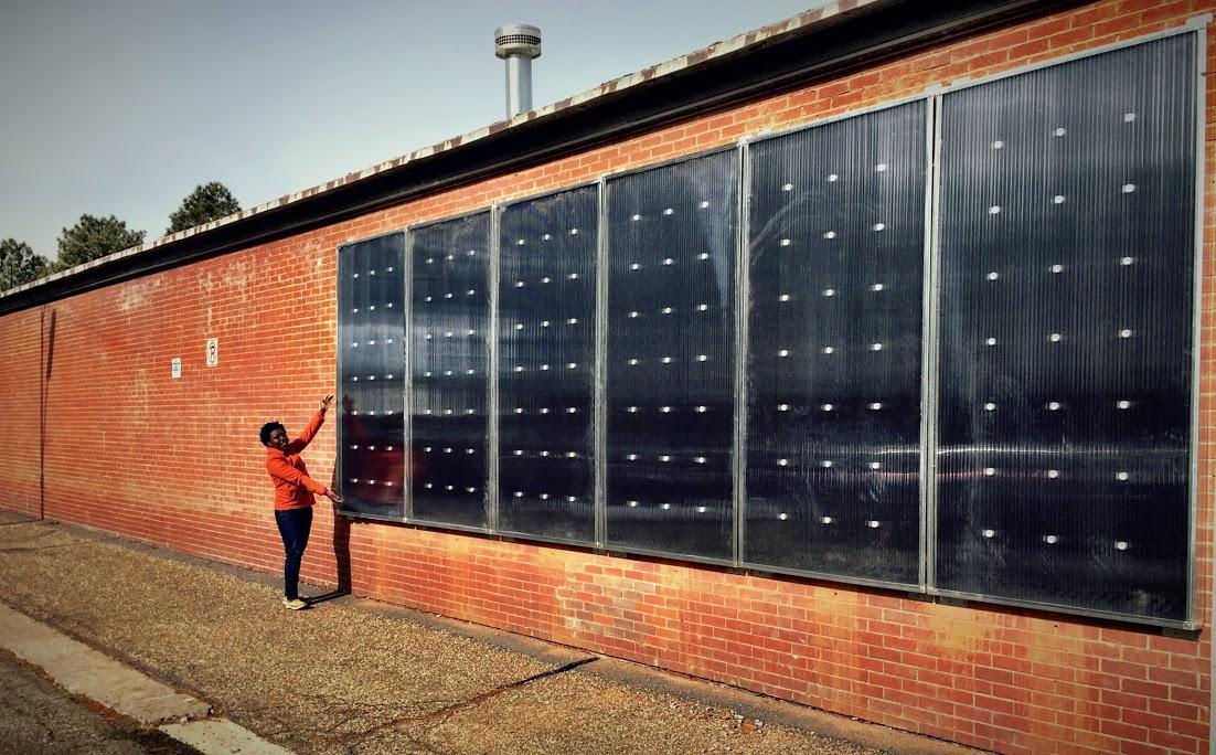 Solar Hot Air Heaters