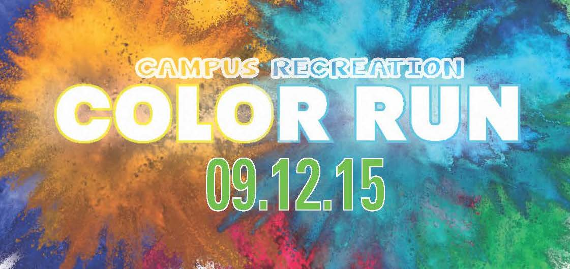Campus Recreation Color Run 9/12/15