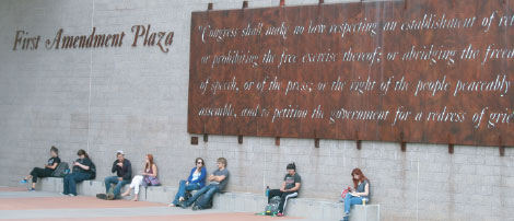 NAU's First Amendment Plaza