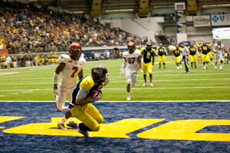 NAU football- Touchdown!