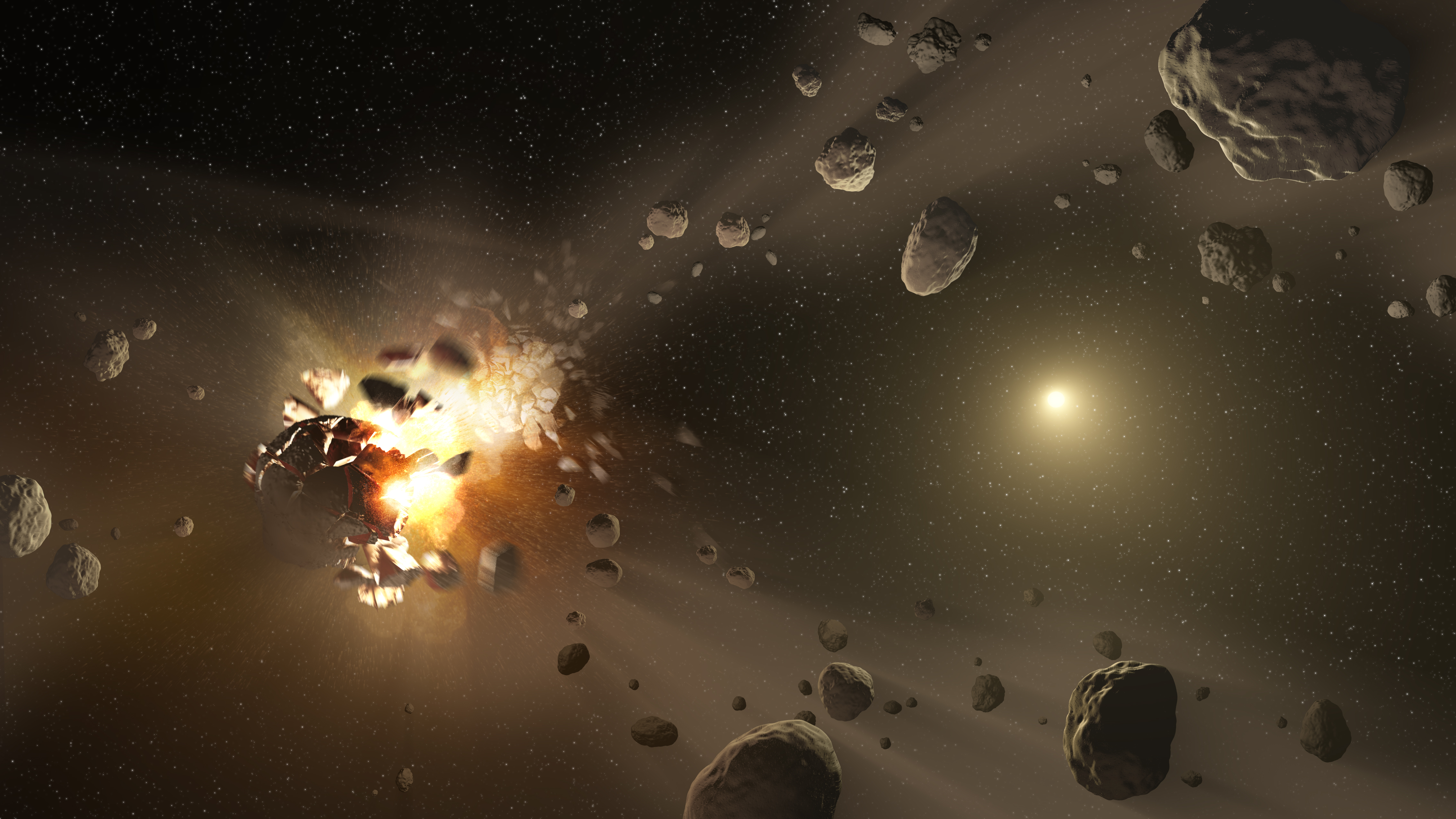 Near Earth asteroids