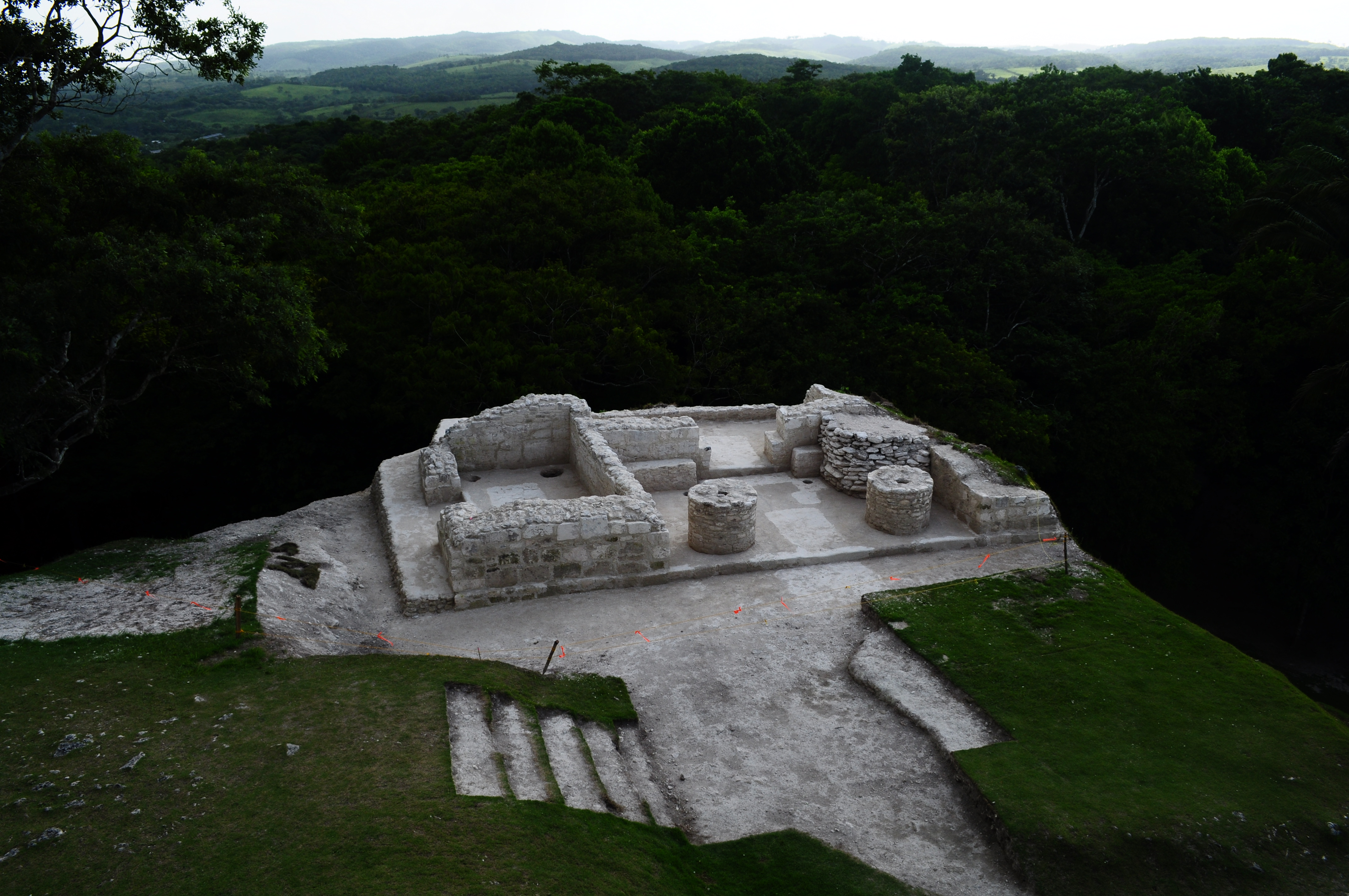 Archaeological site in Belize