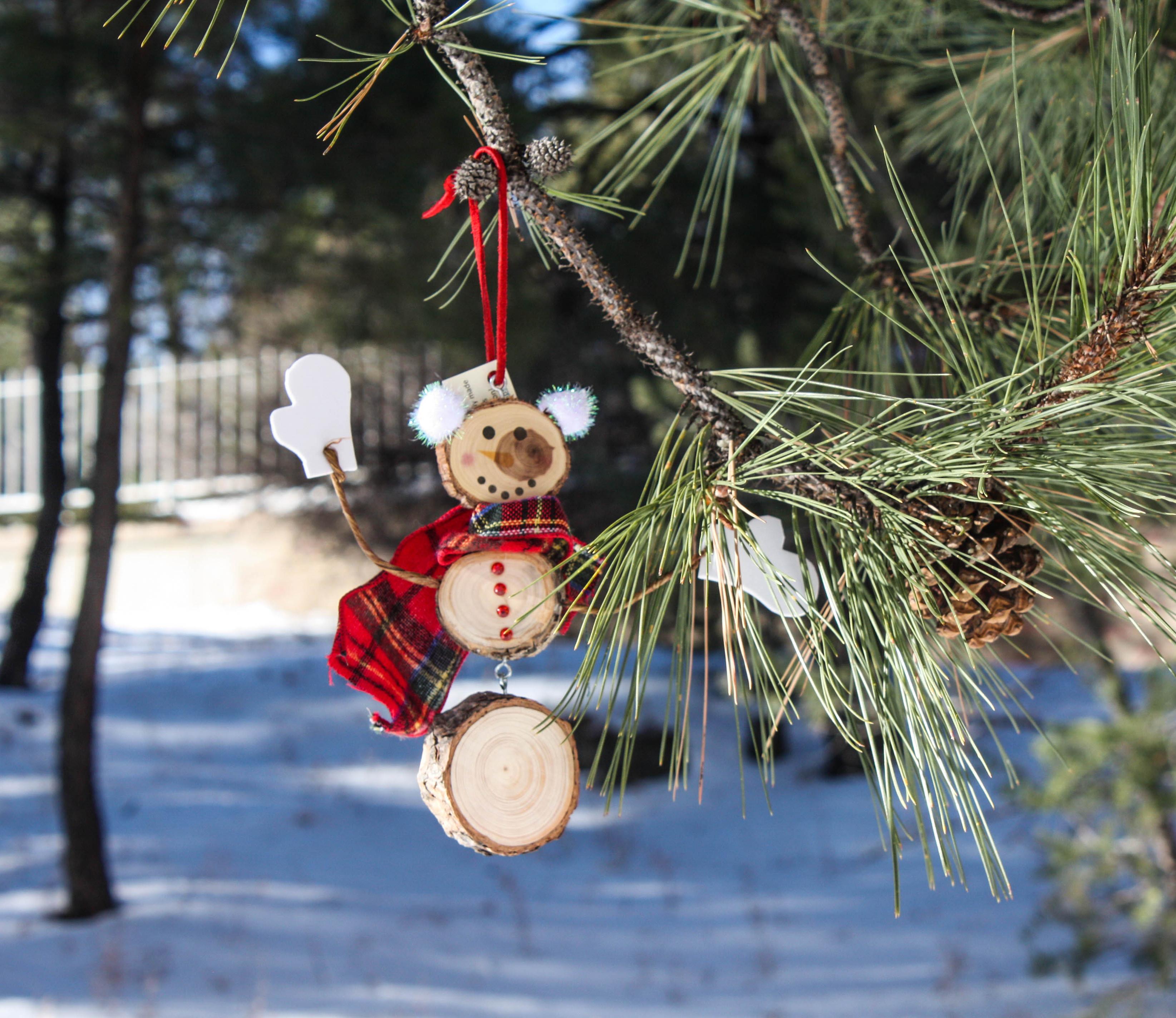 Snowman Tree Ornament