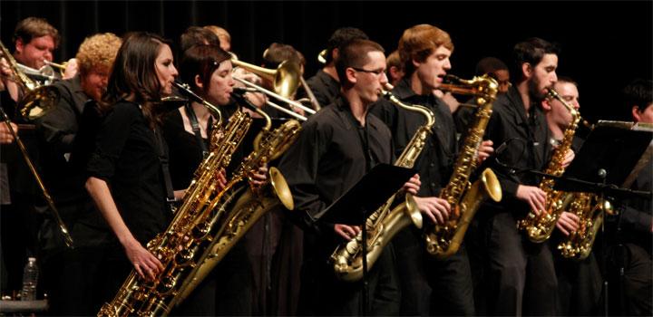 NAU Jazz band
