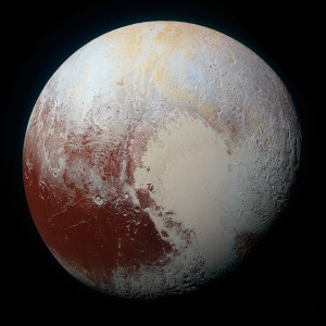 Pluto image from New Horizons