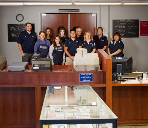 NAU Postal Services staff