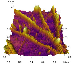 atomic force microscope image