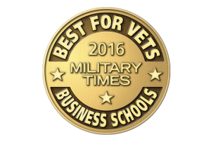 2016 Military Times Best for Vets Business Schools logo