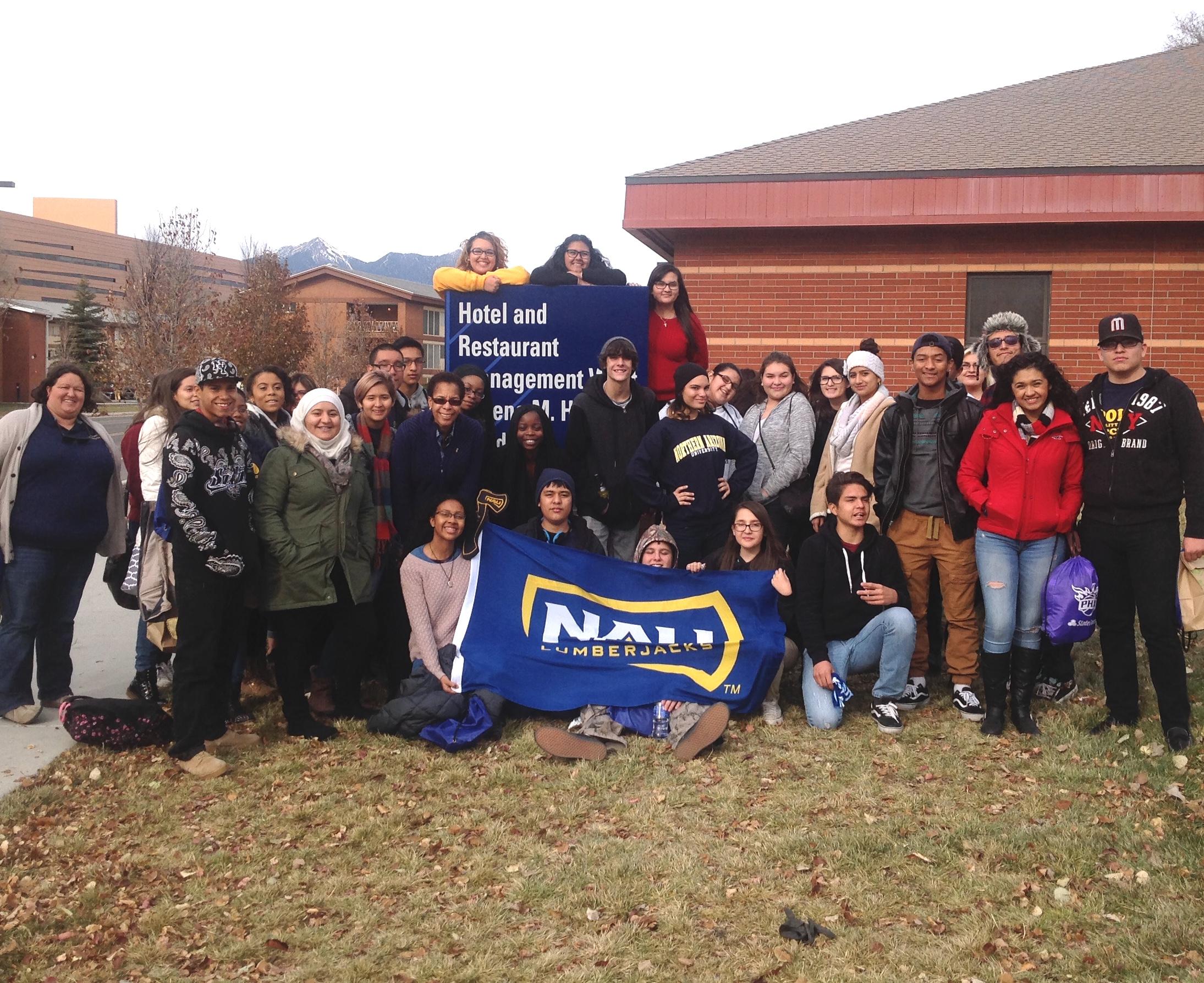 NAU SHRM students