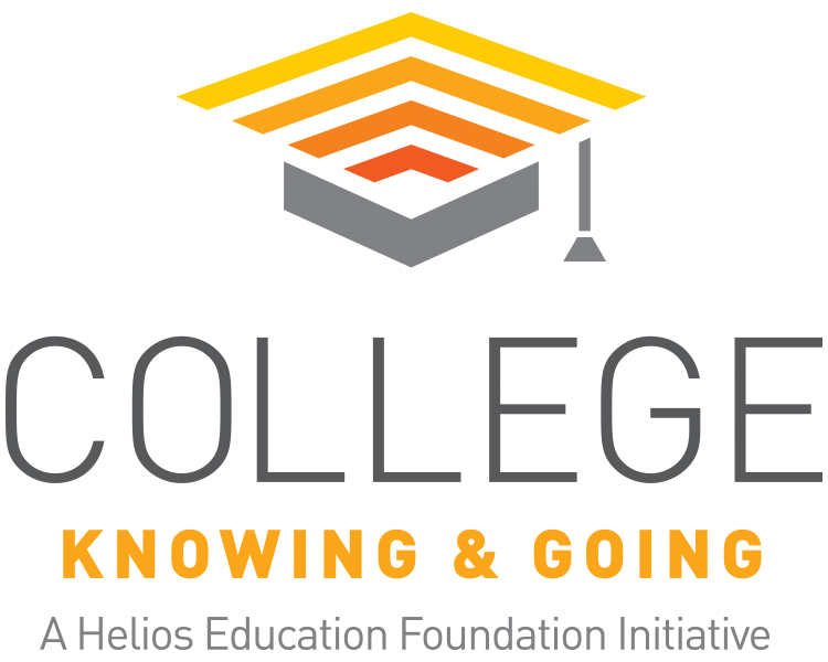 College Knowing & Going Helios logo