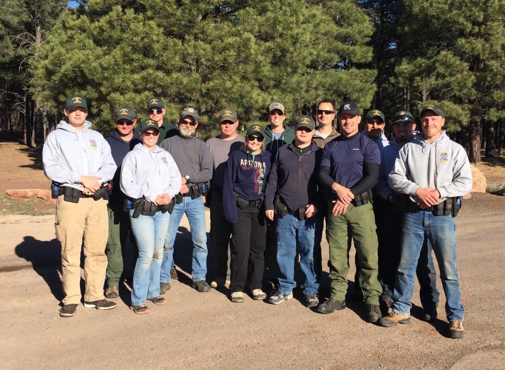 the Park Ranger Trainees