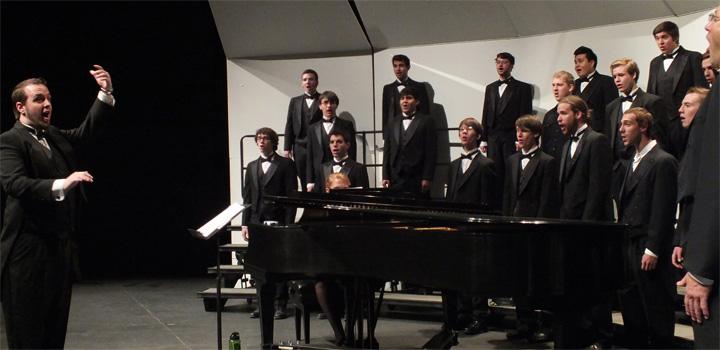 Choral studies on stage