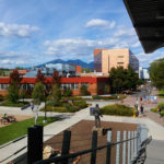 NAU's north campus from the Union second floor