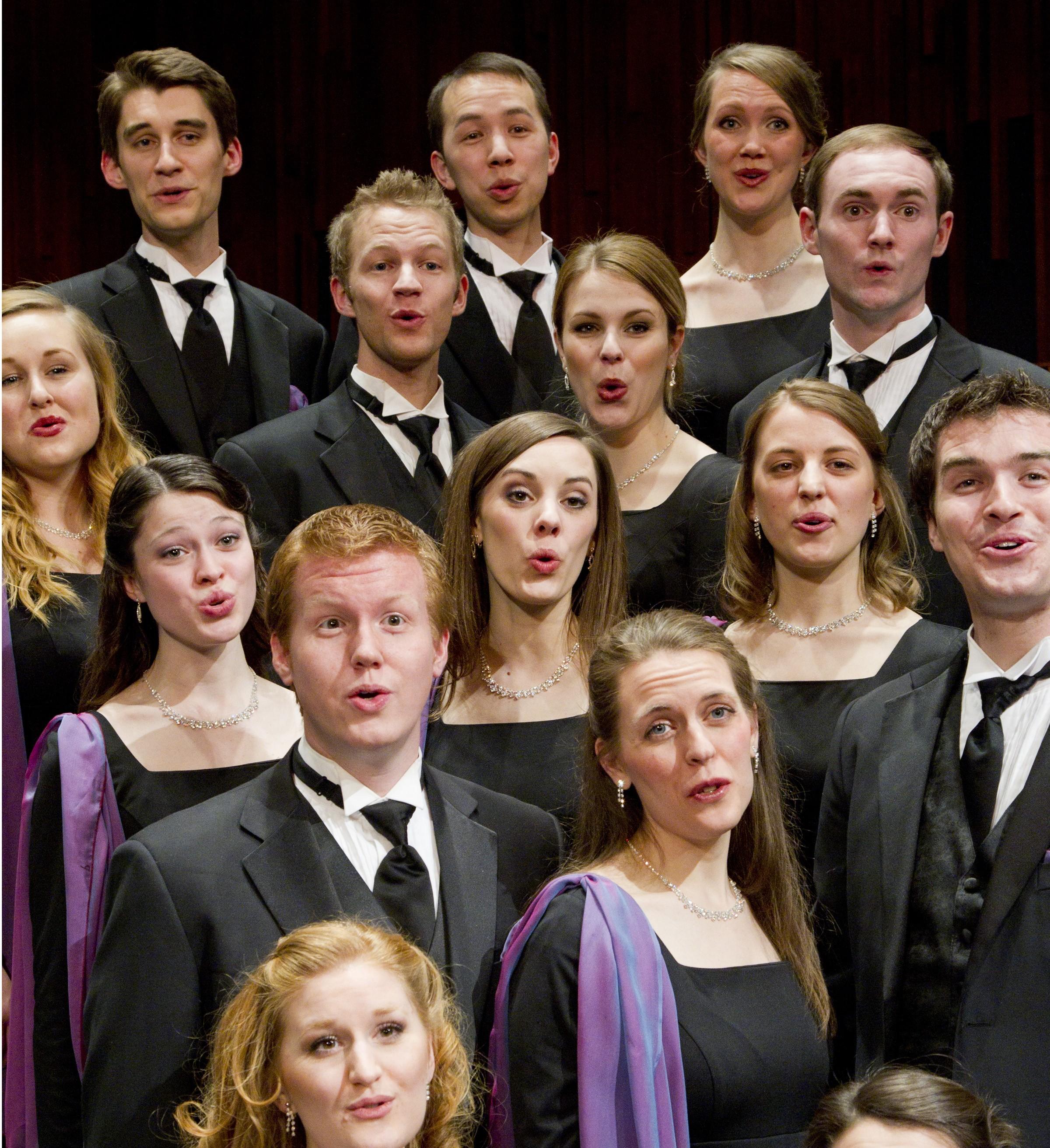 BYU singers performing