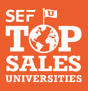 SEF Top Sales Universities graphic
