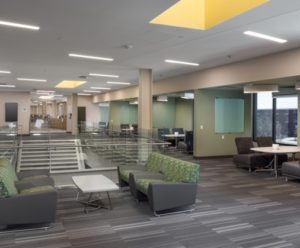 interior of Student and Academic Services building