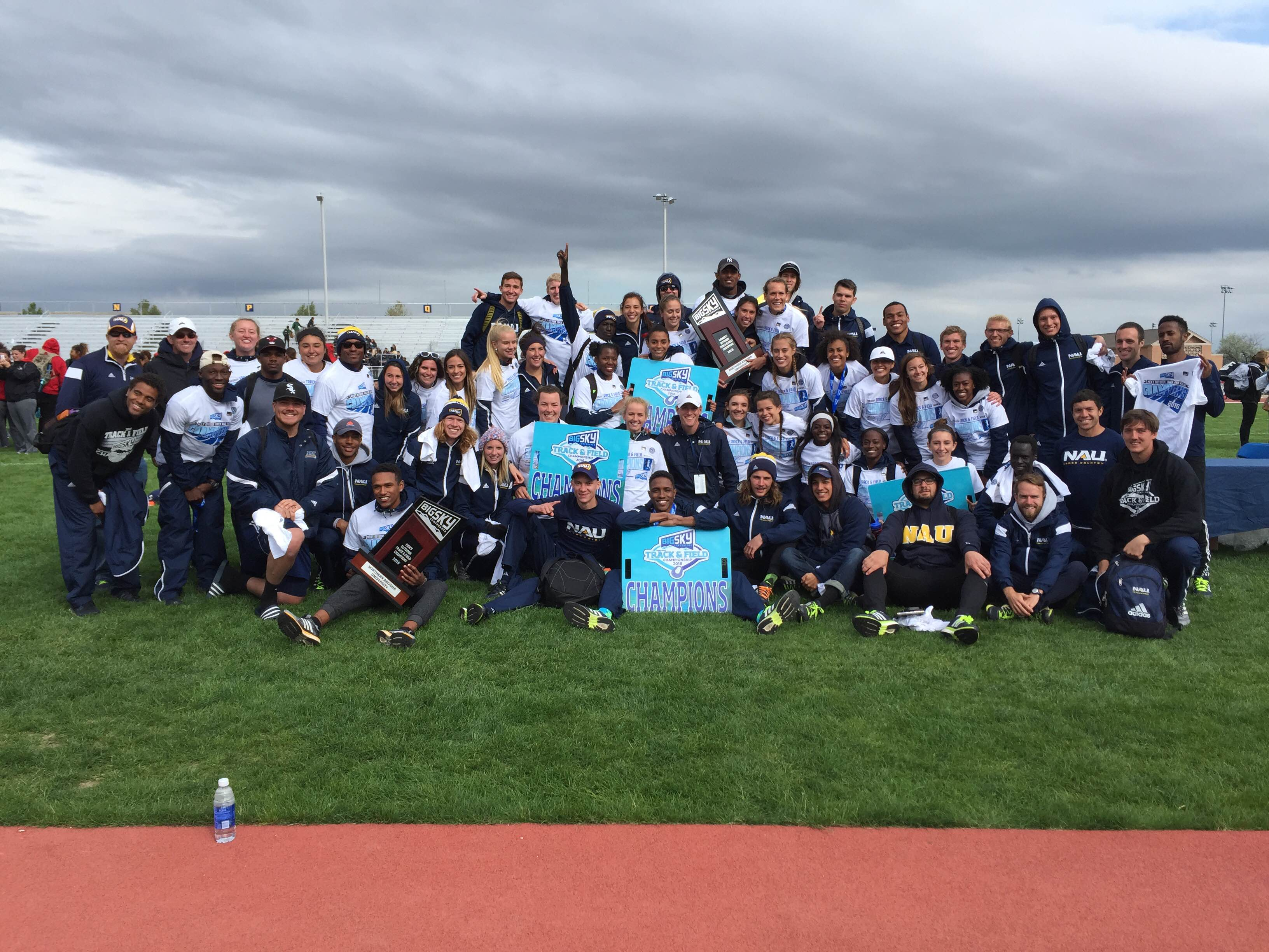 2016 Outdoor Track Team Champions