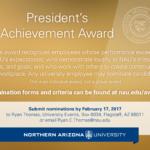 Presidents Achievement Award
