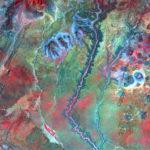 Aerial shot of Kenya