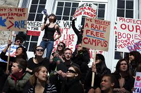 Rally about campus sexual assault prevention
