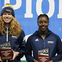 Tyler Day and Shanice McPherson, Big Sky champions