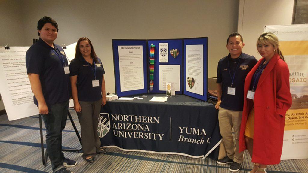 NAU Yuma social work students