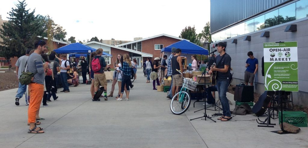 Live music at the Open Air Market