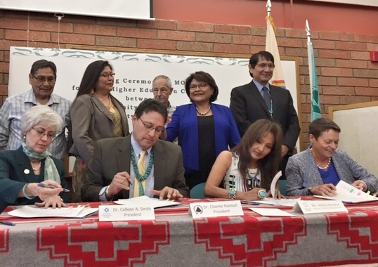Page Higher Education Center Signing