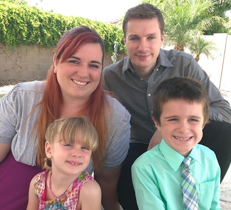 Miranda and her family