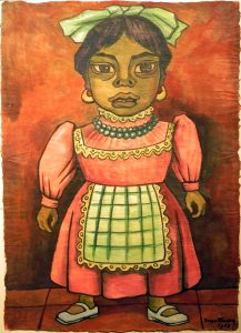 Rivera - Girl with Apron