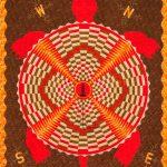 Turtle Island unraveling quilt by Carla Hemlock