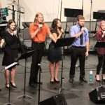 Curry Summer Music campers perform