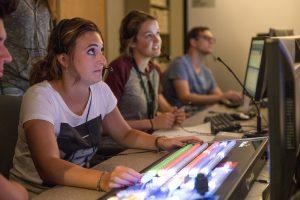 Breda students in studio