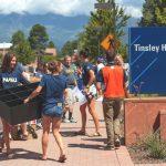 NAU students move in