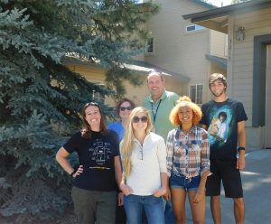 NAUTeach group who went to Oregon to see eclipse