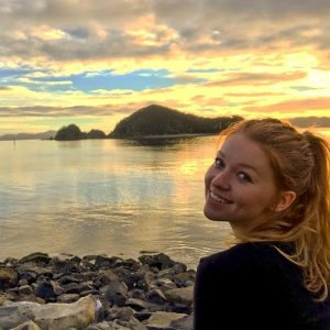 NAU student Miranda Henry studying abroad in New Zealand