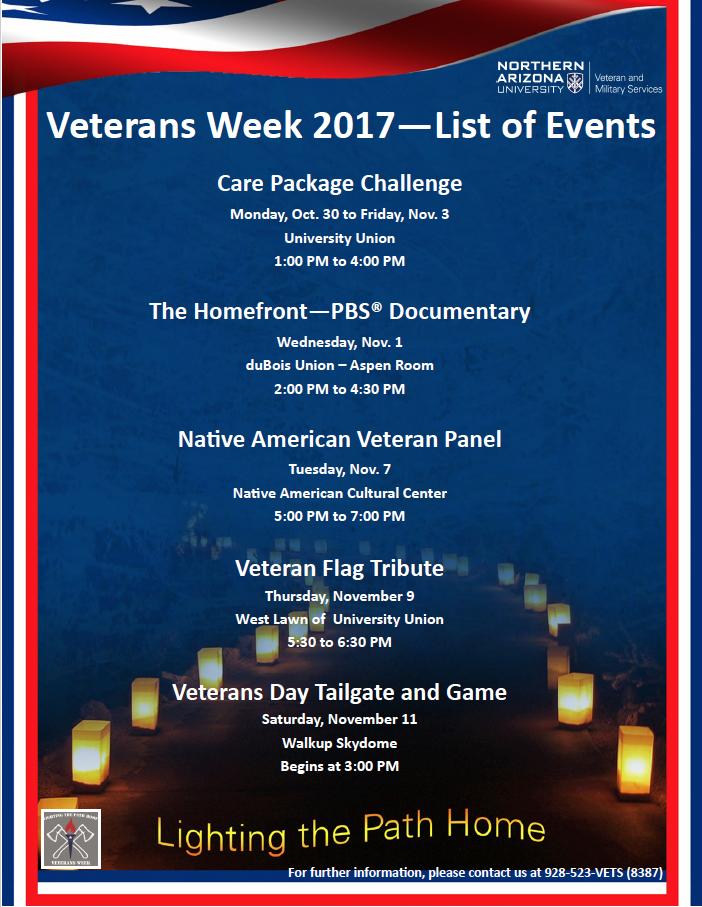 Veterans flier