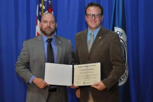 NAU police officer Christopher Anderson graduates from FEMA National Emergency Academy