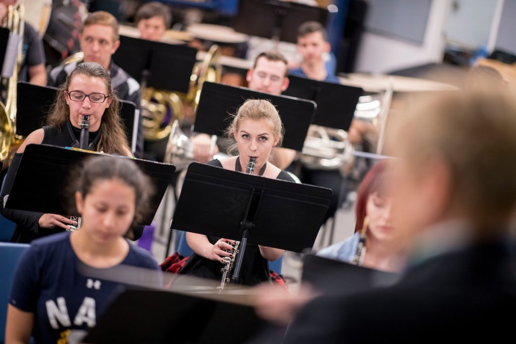 NAU Wind Symphony plays