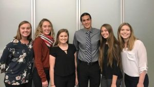 Founders of the United Way student chapter