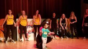 Dancing at Hip Hop Appreciation Week