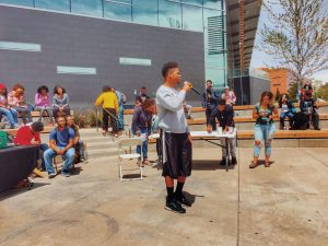 Freestyling at Hip Hop Appreciation Week 2017
