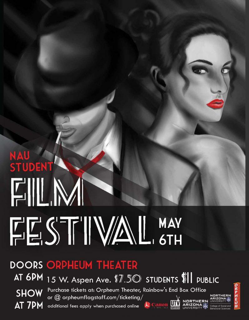 NAU Student Film Fest Poster Jpeg