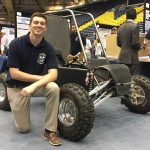 Dylan Cappello and Mini Baja buggy