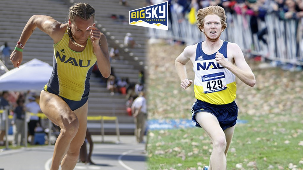 NAU Track and Field's Ashley Taylor and Tyler Day