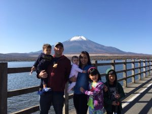 Williams family in Japan