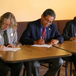 Signing joint agreement