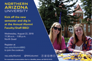 Faculty and staff alumni barbecue 2018