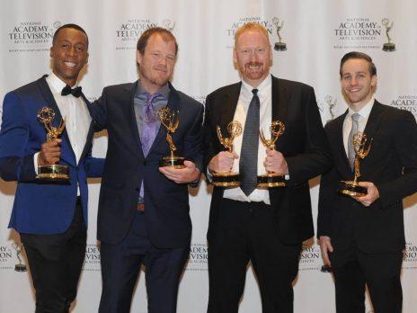NAU-TV team at Emmy Awards