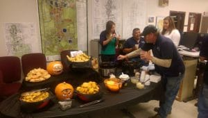 Fall chili cookoff